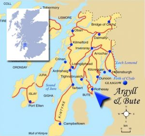 Isle of Bute Map - Makuredy Home